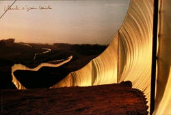 Christo | The Running Fence No. 4 (handsigniert)
