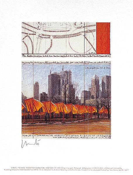Christo The Gates XXIV (handsigniert)