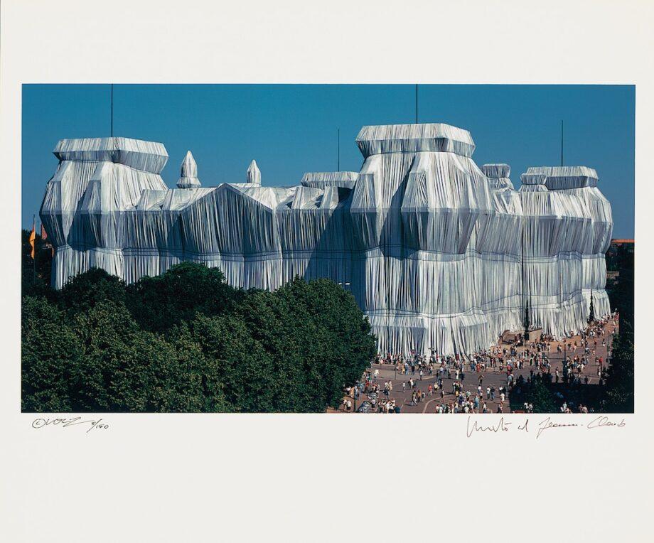 Christo | Reichstag, Portfolio II, Südfassade (handsigniert)