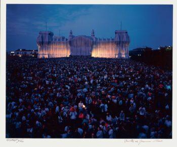 Christo und Jeanne-Claude | Reichstag, Portfolio II, Westfassade (handsigniert)