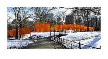 Christo | The Gates, Parting of the ways (handsigniert)
