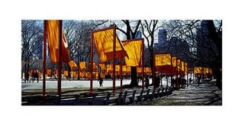 Christo | The Gates, Shadow Play (handsigniert)