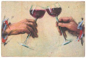 Peter Wever | Kleine Rotwein-Anstoßer