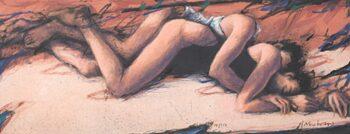 Peter Wever | Löffelchen lang (terracotta)