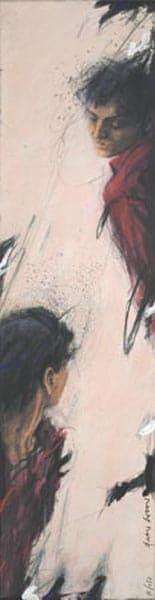 Peter Wever | Umgucker hochkant (rot)