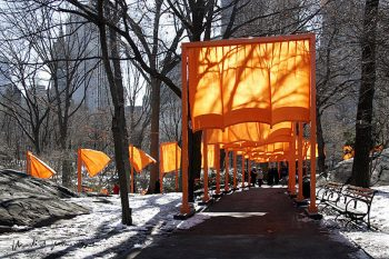 Christo The Gates 53, (handsigniert)