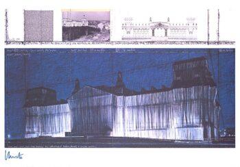 Christo | Reichstag VII, (handsigniert)