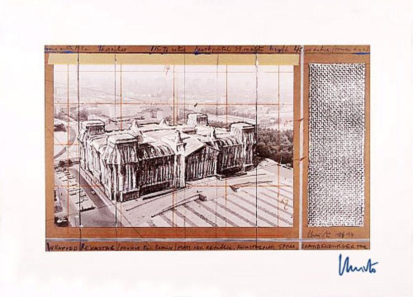 Christo | Reichstag X, (handsigniert)