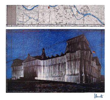 Christo | Reichstag XV, (handsigniert)