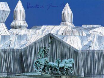 Christo | Reichstag, Reichstag mit Quadriga (handsigniert)