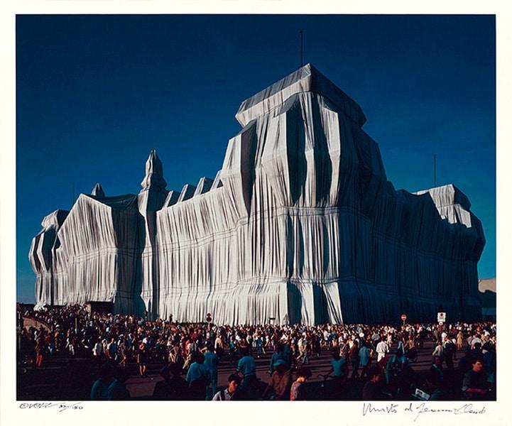Christo | Reichstag, Portfolio I, 4 pm (handsigniert)