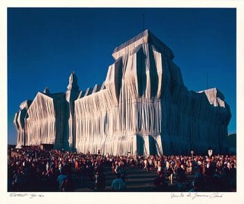 Christo | Reichstag, Portfolio I, 6 pm (handsigniert)