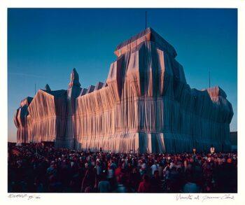 Christo | Reichstag, Portfolio I, 8 pm (handsigniert)
