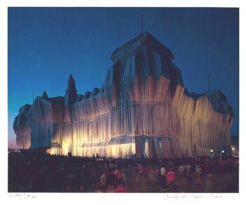 Christo | Reichstag, Portfolio I, 10 pm (handsigniert)