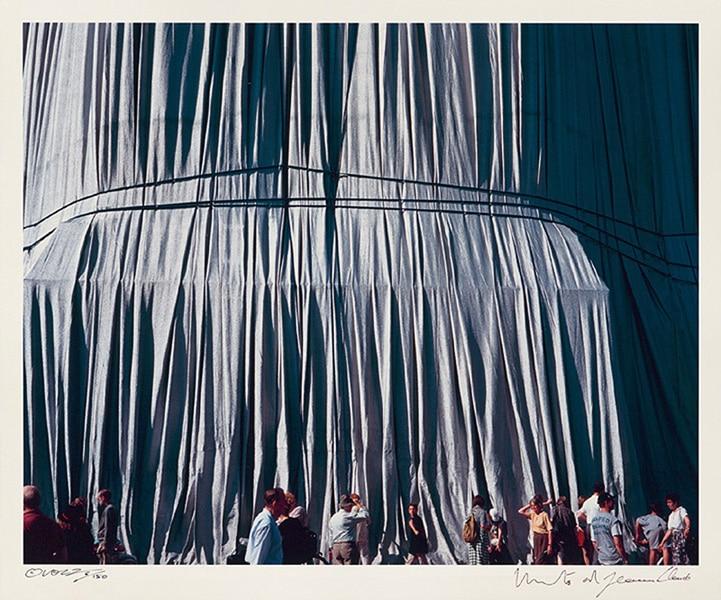Christo: Reichstag, Portfolio II, Verhüllung (handsigniert)