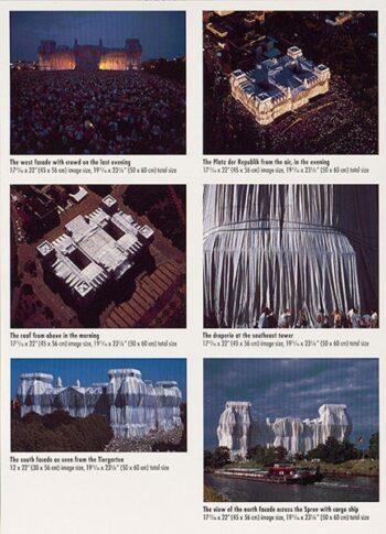 Christo: Reichstag, Portfolio II, complete (handsigniert)