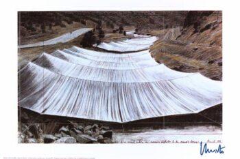 Christo Over The River III (handsigniert)
