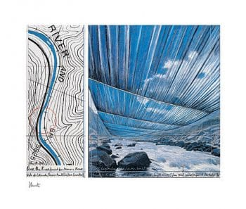 Christo | Over The River X (handsigniert)