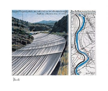 Christo   Over The River XI (handsigniert)