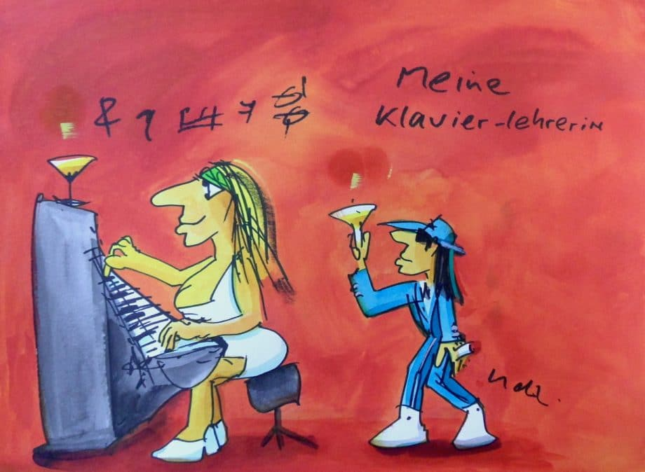 Udo Lindenberg | Meine Klavierlehrerin