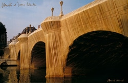 Christo | Pont Neuf Wrapped No. 8, handsigniert
