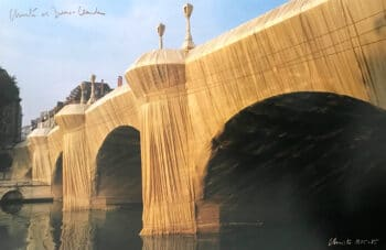 Christo und Jeanne-Claude Pont Neuf Wrapped