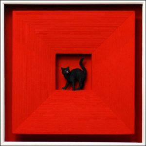 Volker Kühn Cat in Red
