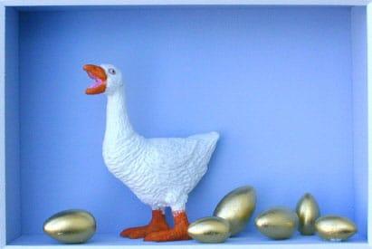 Volker Kühn Die Gans, die goldene Eier legt