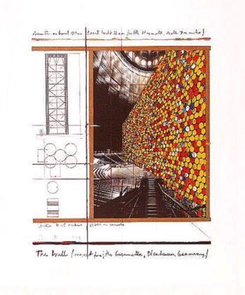 Christo | The Wall III, handsigniert