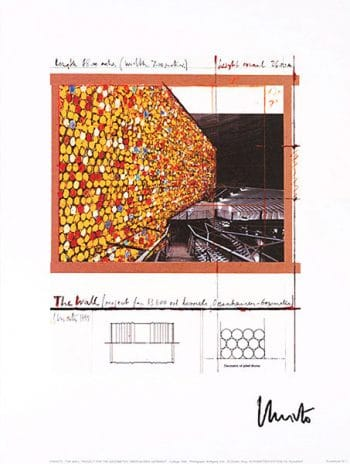Christo | The Wall I, handsigniert
