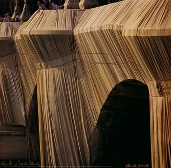 Christo | Pont Neuf Wrapped No. 9, handsigniert