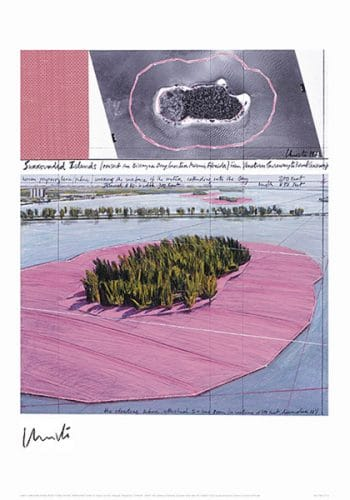 Christo | Surrounded Islands, Miami III, handsigniert
