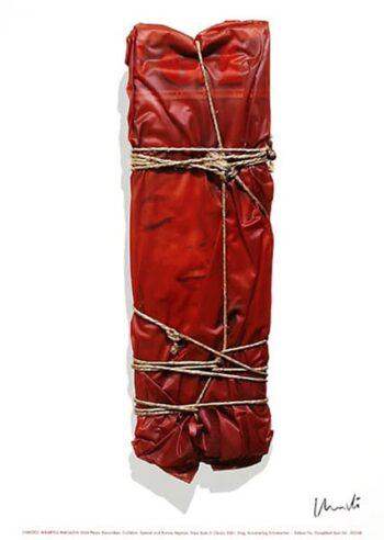 Christo | Wrapped Magazine, handsigniert