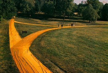 Christo: Wrapped Walk Ways No, 7, handsigniert