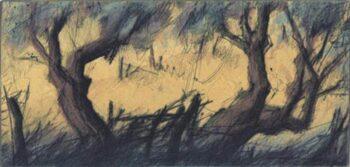 Peter Wever | Zwei Olivenbäume
