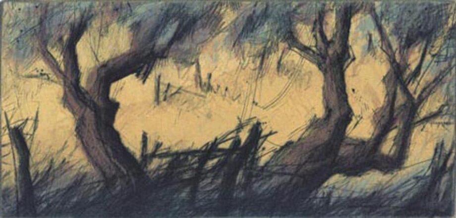 Peter Wever   Zwei Olivenbäume