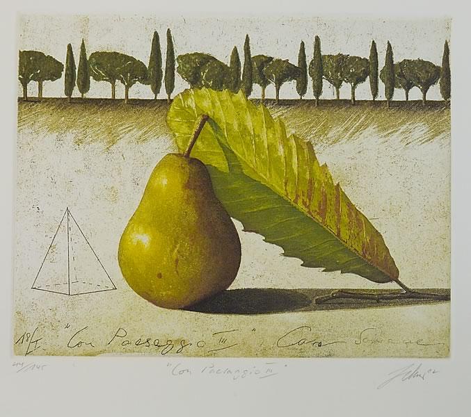 Wolfgang Zelmer | Con Paesaggio III