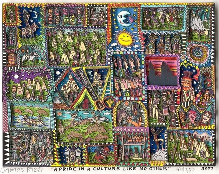 James Rizzi A pride in a culture like no other (charity)