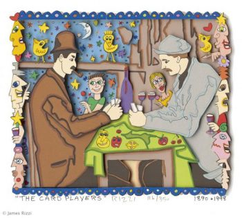 James Rizzi | Card players