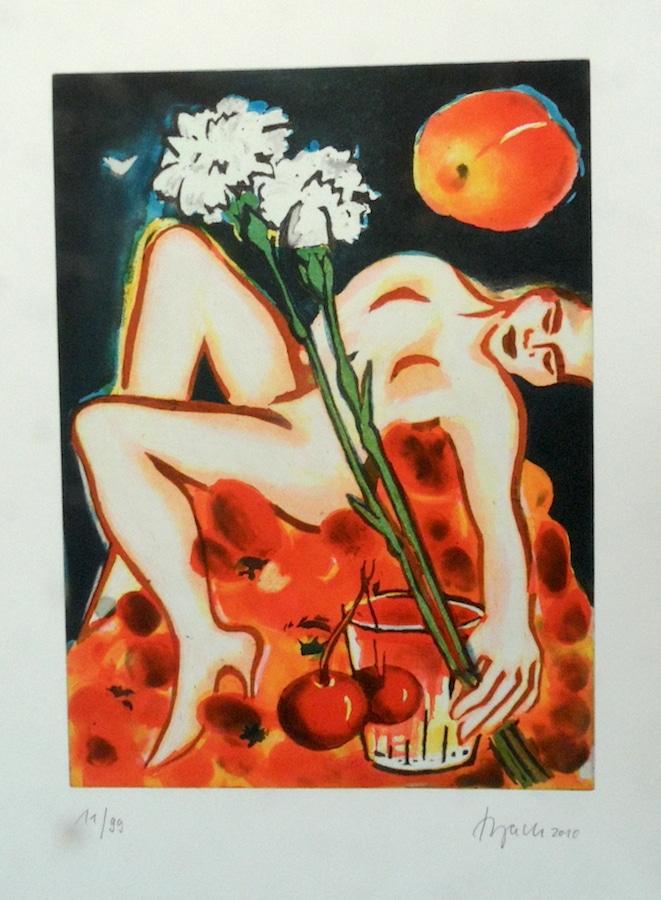Elvira Bach | Grüße an Chardin