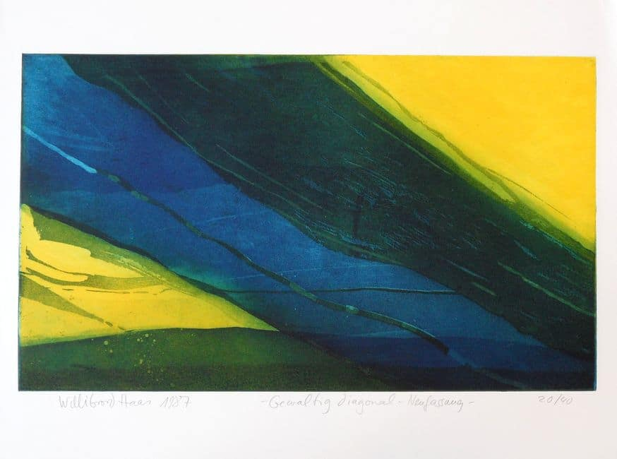 Willibrord Haas | Gewaltig diagonal