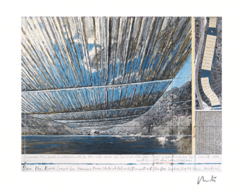 Christo | Over the Arkansas River, Project U