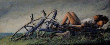 Peter Wever | Fahrräder im Gras