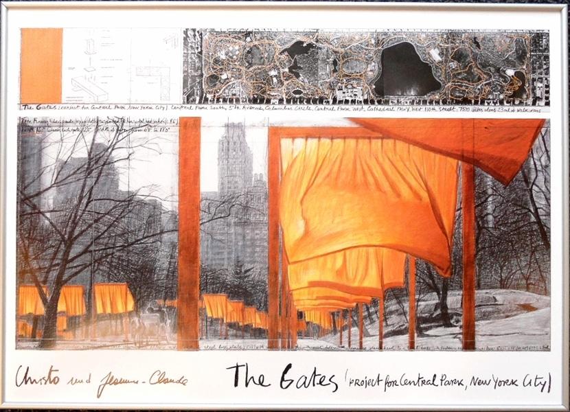 Christo | The Gates IX, gerahmt