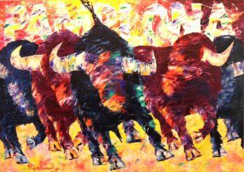 Peter Linnenbrink, Pamplona Fiesta de los toros