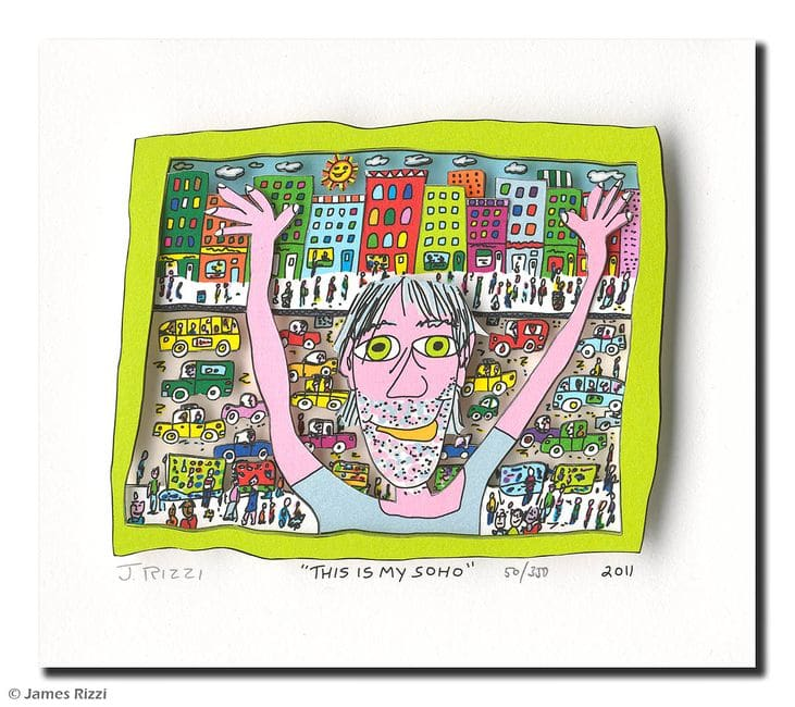 James Rizzi | This is my Soho