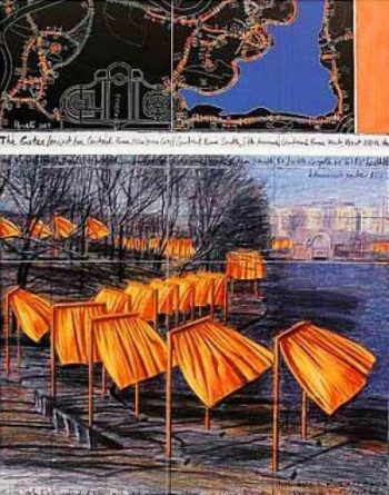 Christo | The Gates VIII, gerahmt