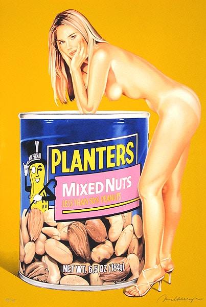 Mel Ramos Mixed Nuts