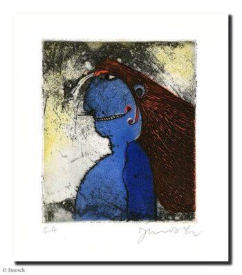 Janosch Blauer Rotwangenhäuptling