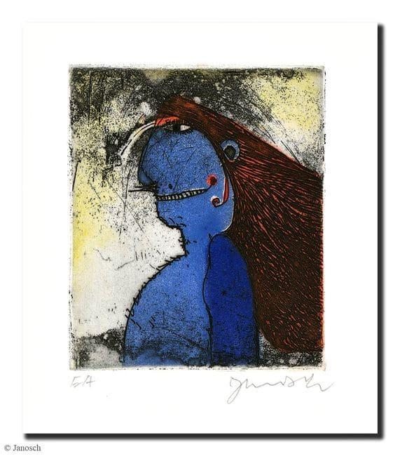 Janosch | Blauer Rotwangenhäuptling